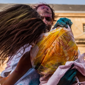 Photographie Statues en mouvement - Color of Time 2015, Metz par Esthalirioth